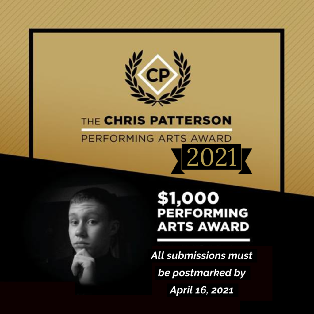 2021 Awards Poster - Submissions must be postmarked by April 16, 2021